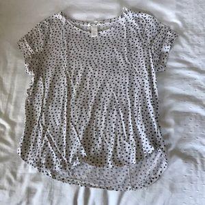 H&M Polk a dot blouse